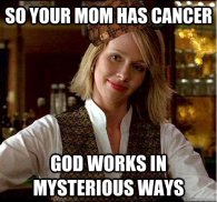 Gods Mystery cancer